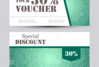 Gift Voucher Template With Mandala. Design Certificate For intended for Magazine Subscription Gift Certificate Template