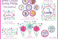Girl Bubble Guppies Printable Party Package. $25.00, Via intended for Bubble Guppies Birthday Banner Template