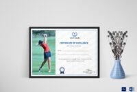 Golf Excellence Certificate Template regarding Golf Certificate Templates For Word