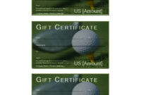 Golf Gift Certificate – Download This Free Printable Golf in Golf Certificate Templates For Word