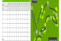 Golf Scorecard Template Editable – Fill Online, Printable for Golf Score Cards Template