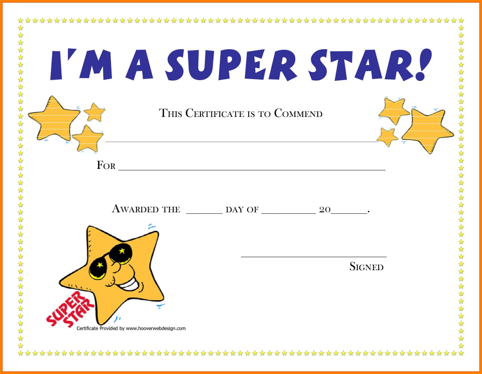 Good Job Certificates – Forza.mbiconsultingltd Regarding Classroom Certificates Templates