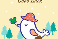 Goodbye And Good Luck – Farewell Card (Free | Goodbye, Good Within Good Luck Card Template