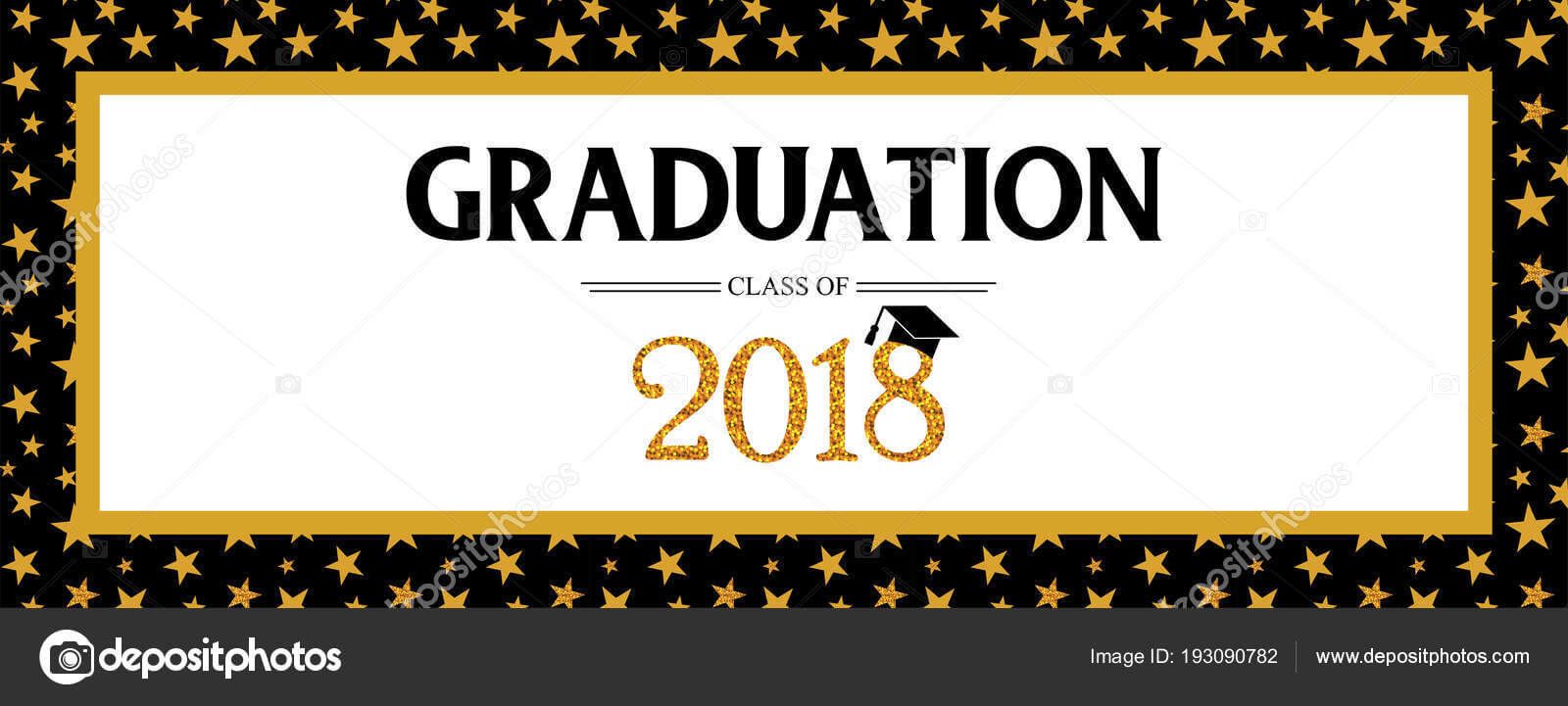 Graduation Banner Template | Graduation Class Of 2018 With Regard To Graduation Banner Template