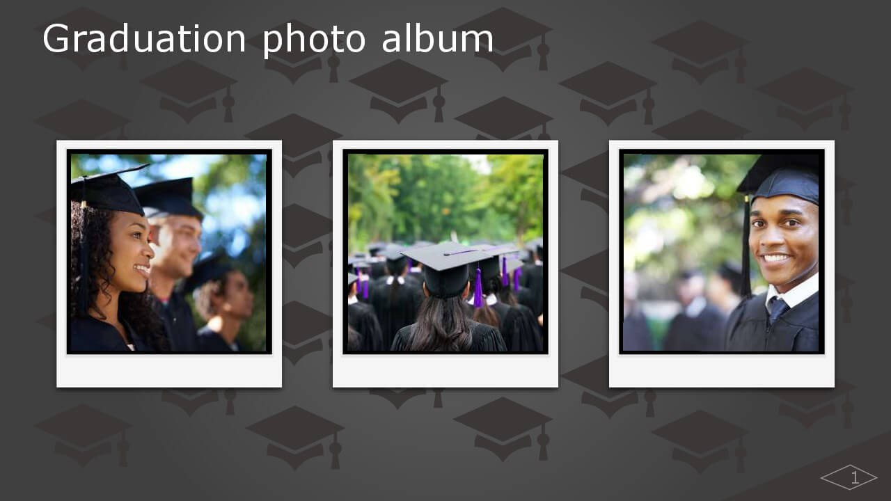 Graduation Photo Album – Office Templates & Themes – Office 365 Within Powerpoint Photo Album Template
