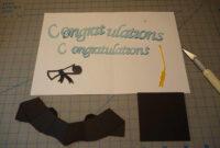 Graduation Pop Up Card: 3D Cap Tutorial – Creative Pop Up Cards for Graduation Pop Up Card Template