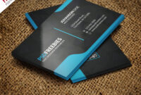 Graphic Designer Business Card Template Free Psd within Photoshop Name Card Template