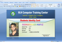 """Graphic Tutorial On Twitter: """"#idcarddesign #identitycard with regard to Id Card Template For Microsoft Word"""