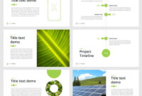 Green Energy Powerpoint Template – Download Now | Geothermal throughout How To Save Powerpoint Template