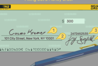 Guide To Filling Out A Money Order pertaining to Blank Money Order Template