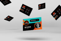 Gym / Fitness Membership Card Template In Psd, Ai & Vector With Regard To Gym Membership Card Template