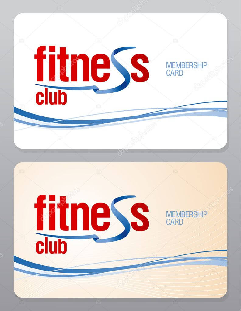Gym Membership Card Template | Fitness Club Membership Card Pertaining To Gym Membership Card Template
