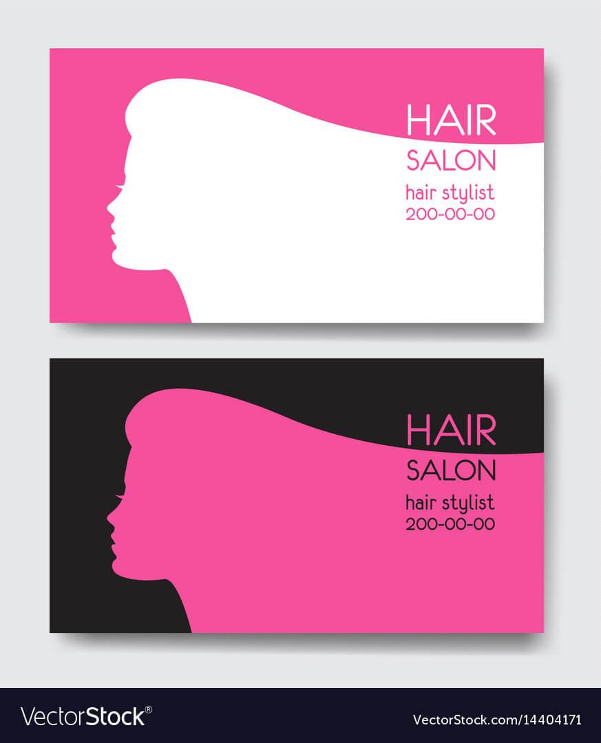 Hair Salon Business Card Templates With Beautiful Throughout Hair Salon Business Card Template