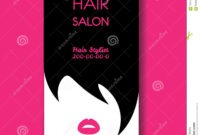 Hair Salon Business Card Templates With Black Hair And inside Hairdresser Business Card Templates Free