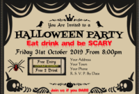 Halloween Certificate & Award Templates At In Halloween Costume Certificate Template