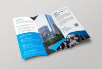Hamburg Professional Tri-Fold Brochure Design Template with E Brochure Design Templates
