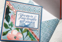 Handmade Card Using Spring Posies Paper Padrecollections regarding Recollections Card Template