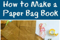 Handmade Craft | Paper Bag Crafts, Craft Activities For Kids in Paper Bag Book Report Template