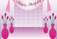 Happy Birthday Banner Stock Photos & Happy Birthday Banner with regard to Sweet 16 Banner Template