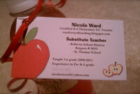 Happy Harvest ! Although I Wish I Had My Very Own Classroom for Business Cards For Teachers Templates Free