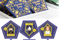 Harry Potter Chocolate Frogs – Free Printable Template For pertaining to Chocolate Frog Card Template