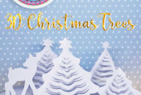 Hattifant's 3D Paper Christmas Trees – Hattifant with 3D Christmas Tree Card Template