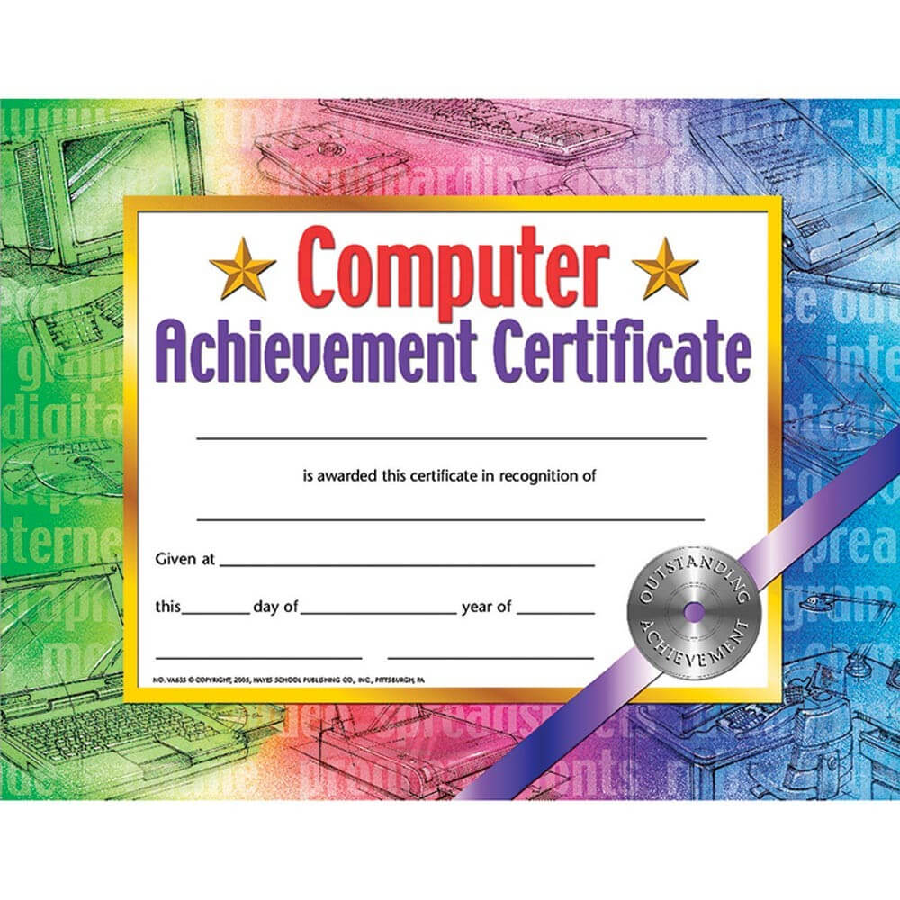 Hayes Certificate Templates ] – Hayes Perfect Attendance Regarding Hayes Certificate Templates