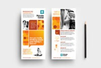 Health Insurance Dl Rack Card Template In Psd, Ai & Vector throughout Dl Card Template