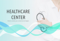 Healthcare Center – Free Presentation Template For Google with regard to Free Nursing Powerpoint Templates