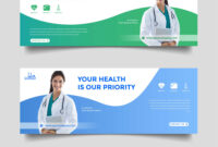 Healthcare Medical Banner Promotion Template with Medical Banner Template