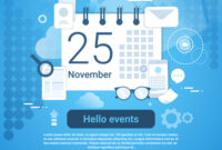 Hello Events Time Management Template Web Banner regarding Event Banner Template
