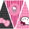 Hello Kitty Birthday Party Banner. This Is One Of 2 with Hello Kitty Birthday Banner Template Free