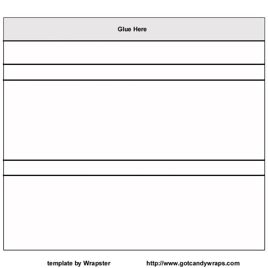 Hershey Bar Wrapper Template Free / Hershey Template For Blank Candy Bar Wrapper Template