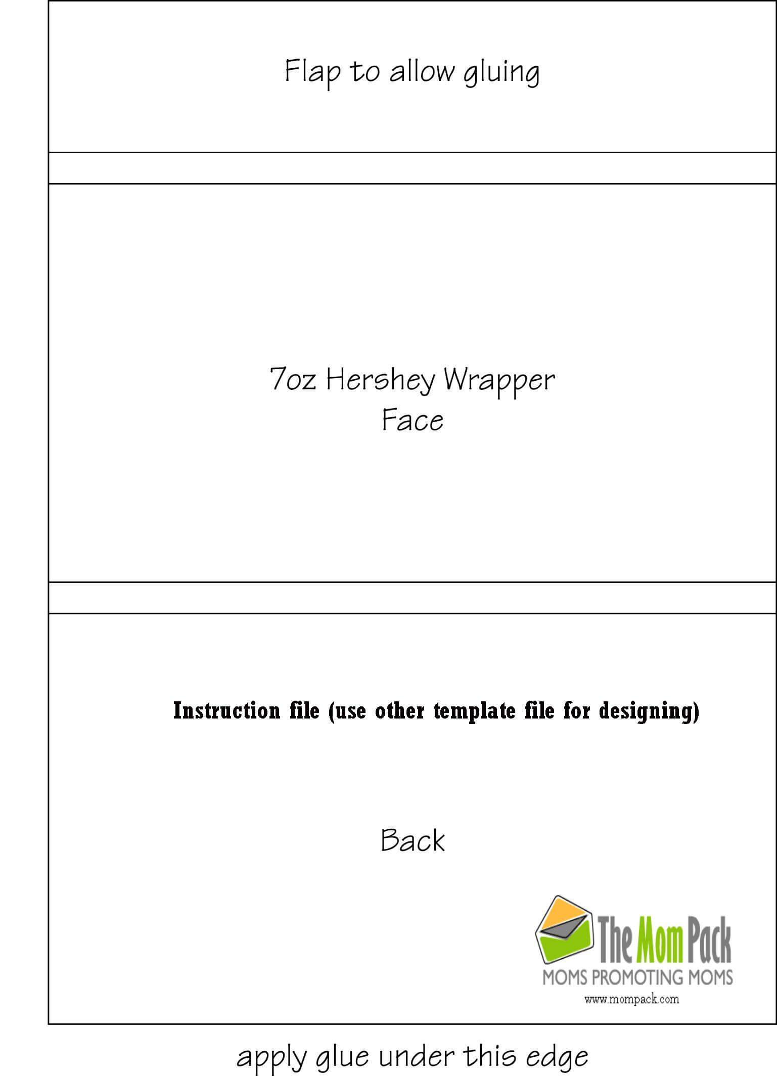 Hershey Bar Wrapper Template Photoshop Tattoo | Candy Bar Regarding Candy Bar Wrapper Template For Word