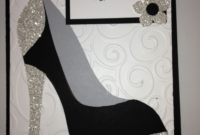 High Heel Shoe Card – Birthday Tanya Bell's High Heel Shoe for High Heel Template For Cards