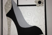 High Heel Shoe Card – Birthday Tanya Bell's High Heel Shoe regarding High Heel Shoe Template For Card
