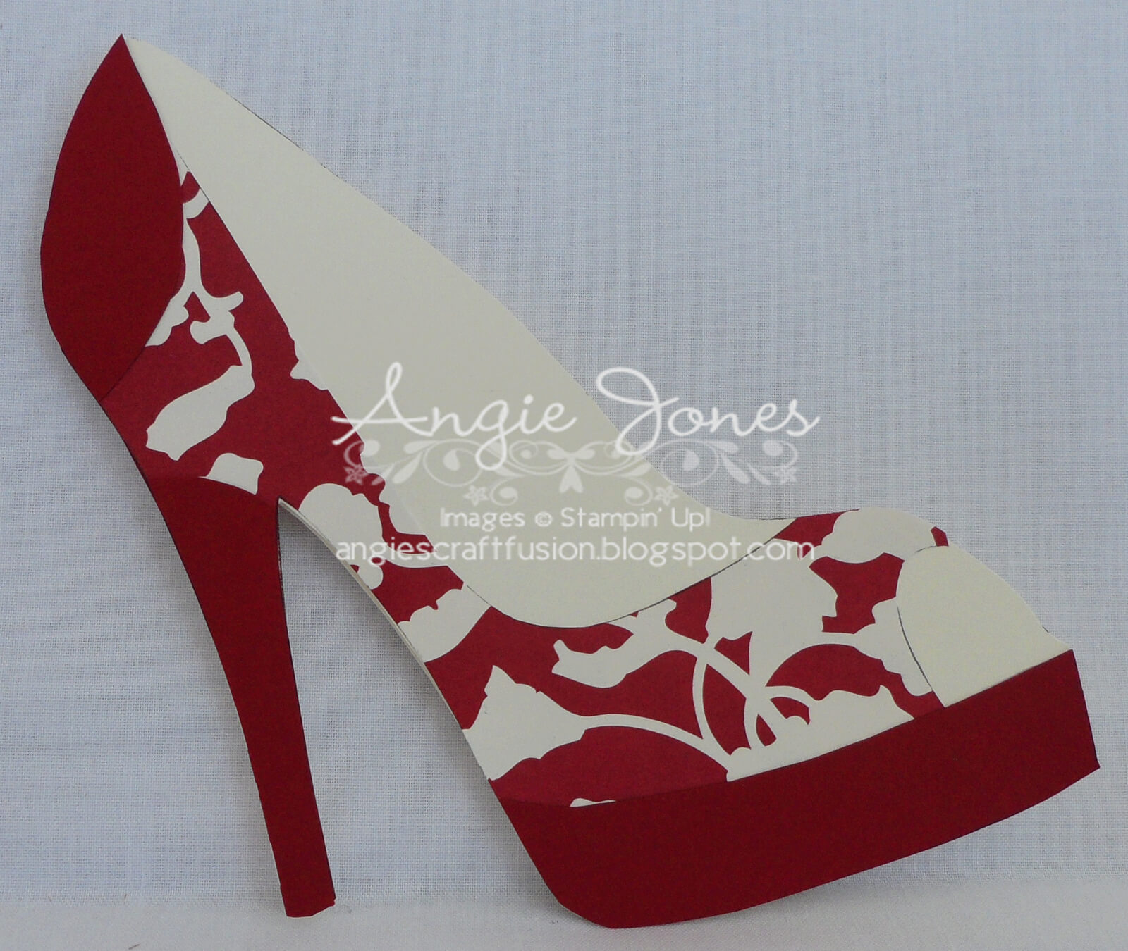 High Heel Shoe Card | Paper Shoes, Shoe Template, Heels For High Heel Template For Cards