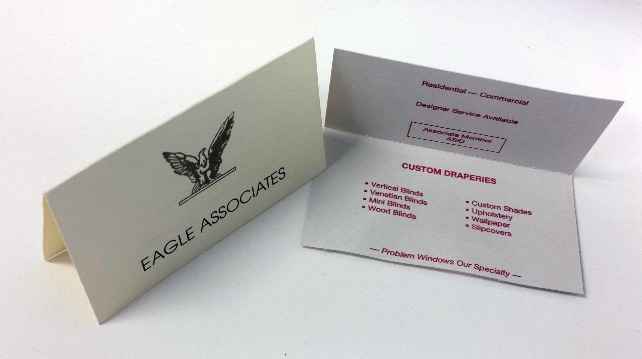 High Quality Fold Over Business Cards – Three Sons Printing For Fold Over Business Card Template