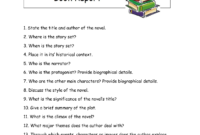 High School Book Report – I Love This Book Report Form. It with High School Book Report Template