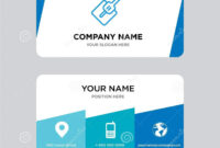 Hoe Business Card Design Template, Visiting For Your Company Inside Photographer Id Card Template
