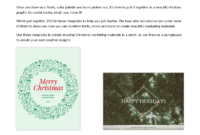 Holiday Marketing Kit From Hubspot And Venngage regarding Holiday Card Email Template