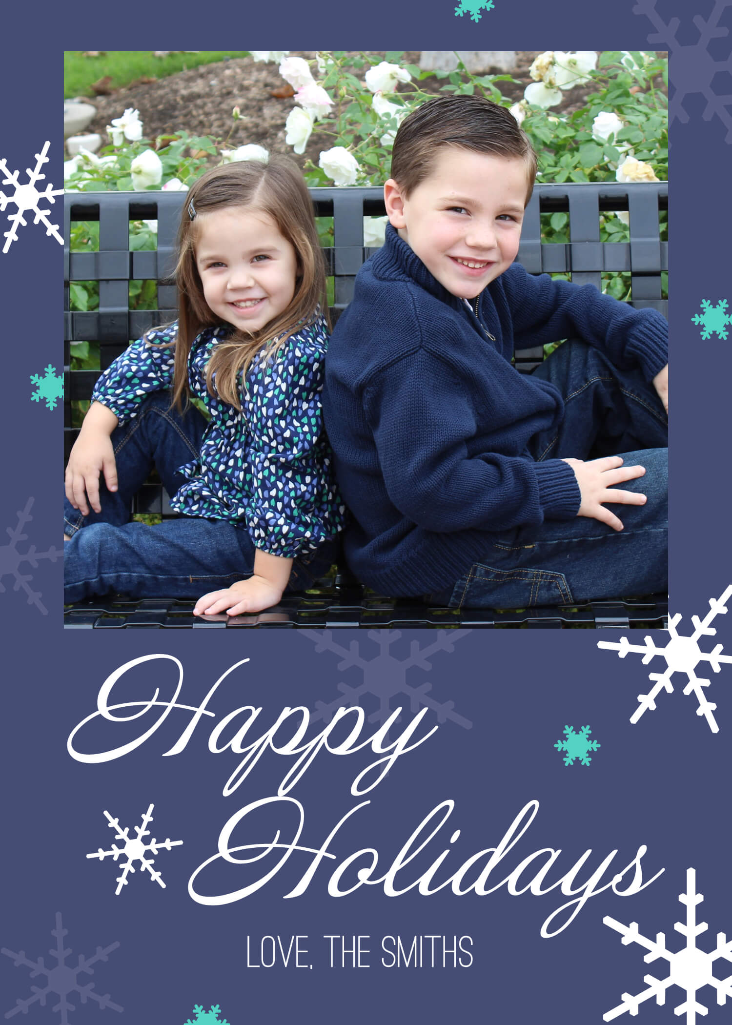 Holiday Photo Card & Pixlr Video Tutorial – Designer Blogs Inside Free Holiday Photo Card Templates