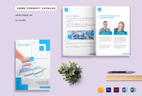 Home Product Catalog Template within Catalogue Word Template