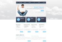 Hosting Responsive Website Template in Report Builder Templates