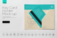 Hotel Key Card Holder Mockup | Hotel Key Cards, Key Card for Hotel Key Card Template