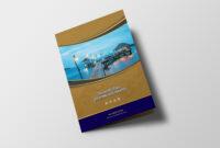 Hotel Resort Bi-Fold Brochure Design Template – 99Effects for Hotel Brochure Design Templates