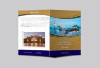 Hotel Resort Bi-Fold Brochure Design Template | Psd Premium in Hotel Brochure Design Templates