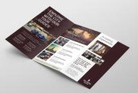 Hotel Tri-Fold Brochure Template V2 – Psd, Ai & Vector for Hotel Brochure Design Templates