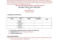 How A Market Research Benefits Your Business | Free with regard to Market Research Report Template