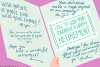 How To Best Wish Your Coworker A Happy Retirement pertaining to Sorry You Re Leaving Card Template